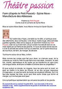 Microsoft Word - Article Théâtre Passion FAIM.docx